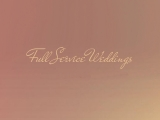 Full service weddings